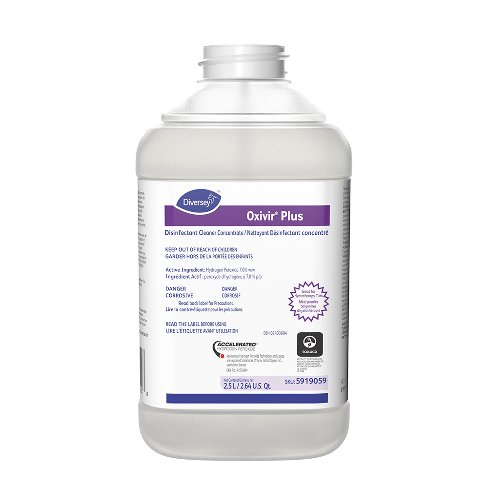 Oxivir Plus J-Fill Disinfecting Concentrate Cleaner | 2.5 L