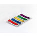 "Post-it Preprinted Arrow Message Flags | With On-The-Go Dispenser | Assorted Primary Colours | 1/2"" x 1 7/10"" 