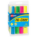 Avery Hi-Liter Fluorescent Highlighters | Assorted Colours | Chisel Tip