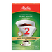 MELITTA COFFEE FILTERS, CONE STYLE #2 (40 Pack)
