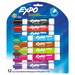Expo Low-Odour Dry-Erase Marker | Assorted Colours | Chisel Tip