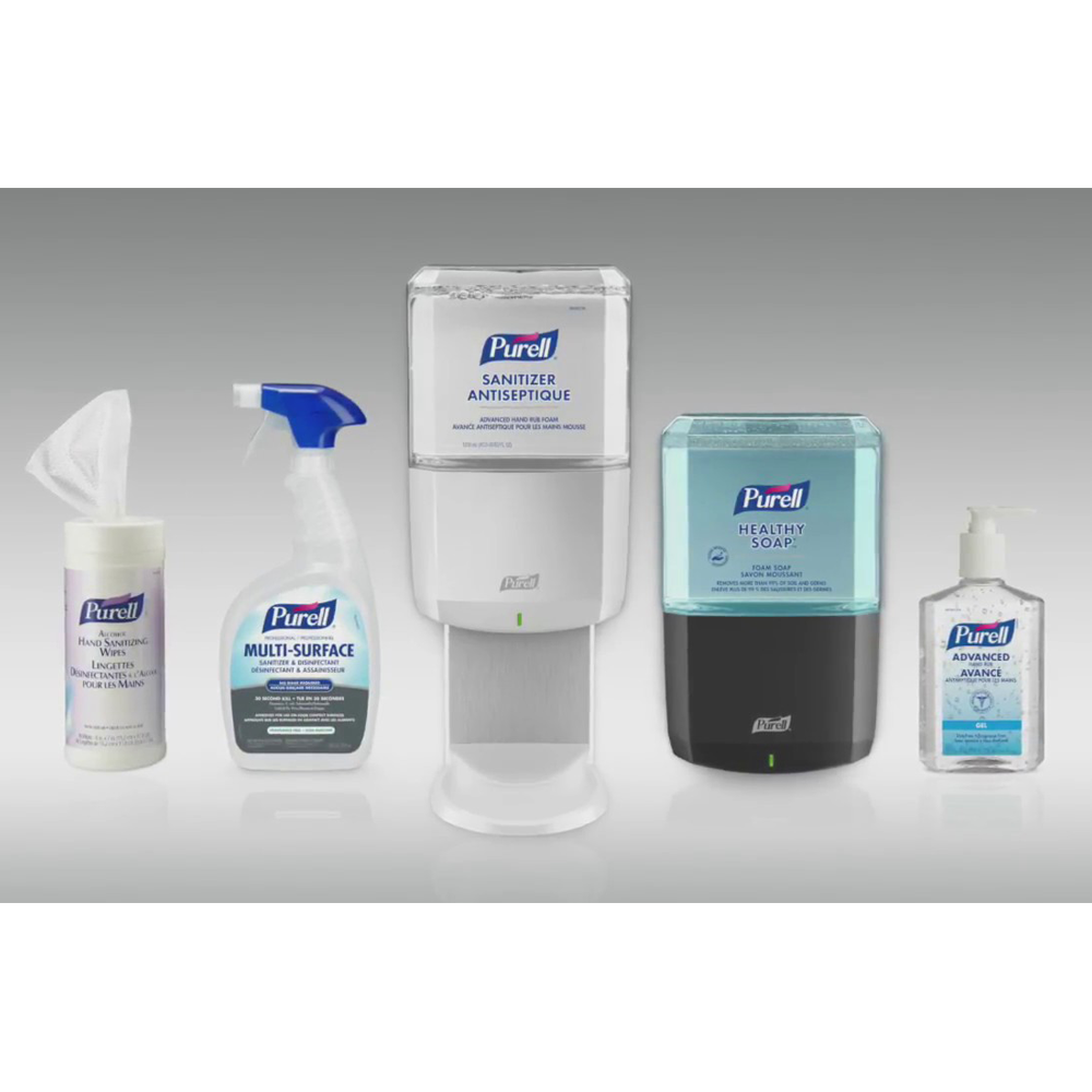 Purell Hand Sanitizing Wipes Canister | 175 Wipes