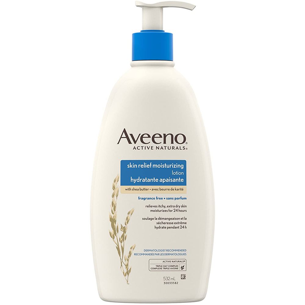 Aveeno Skin Relief Moisturizing Lotion Extra Dry Skin | Unscented | 345mL