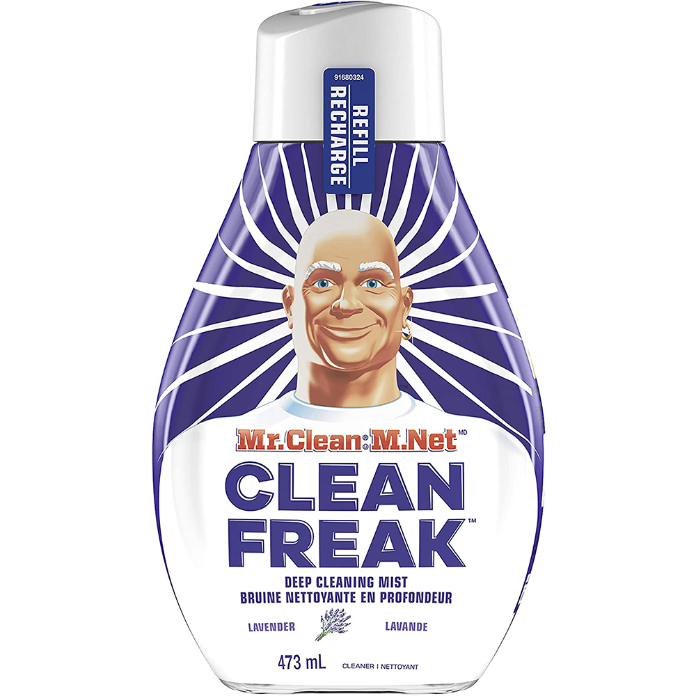 Mr. Clean Clean Freak Deep Cleaning Mist Multi Surface Spray Cleaner | Lavender Refill |  473ml