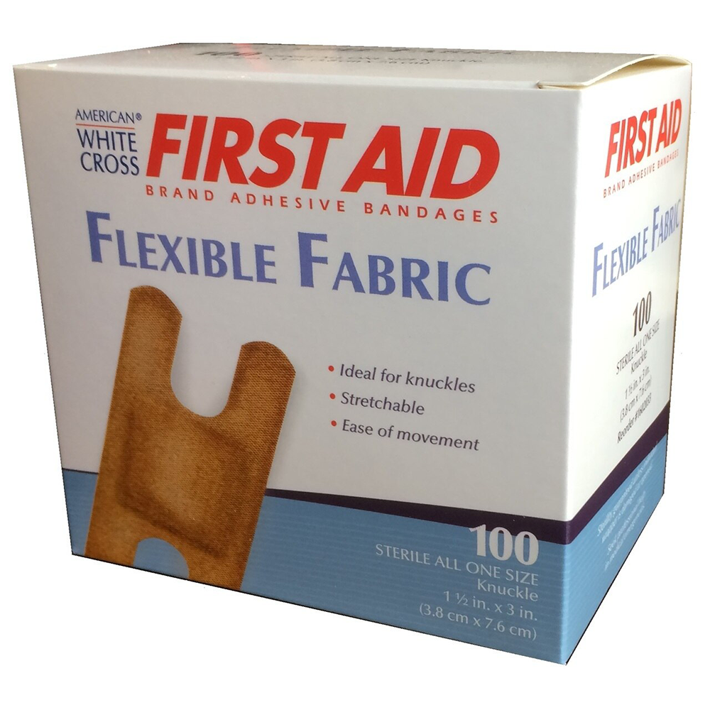 First Aid American White Cross® Bandage | Sterile Adhesive | 100 per Box