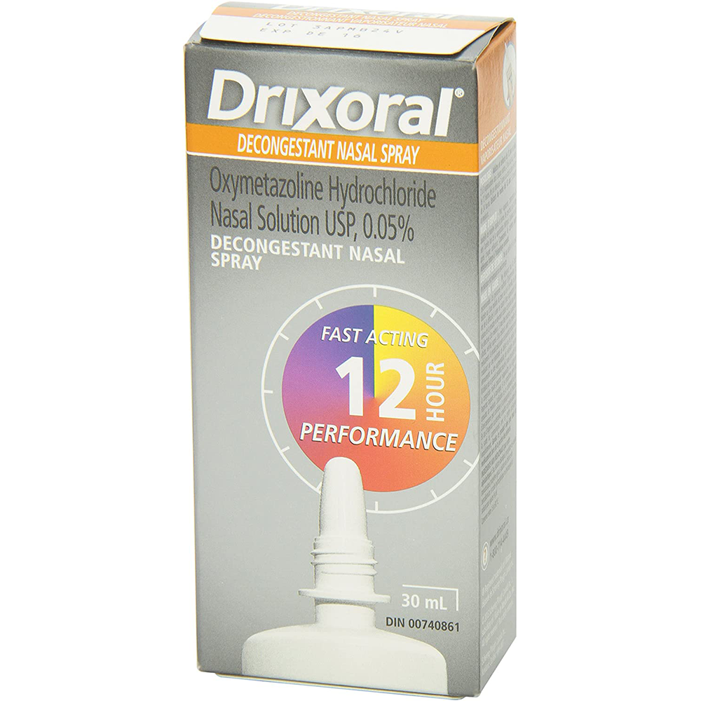 Drixoral Decongestant Nasal Spray | Fast and Long Lasting 12 Hour Relief | 30ml-2