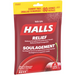 Halls Triple Soothing Action Cough Drops | Cherry | 1 Resealable Bag | 80 Drops-2