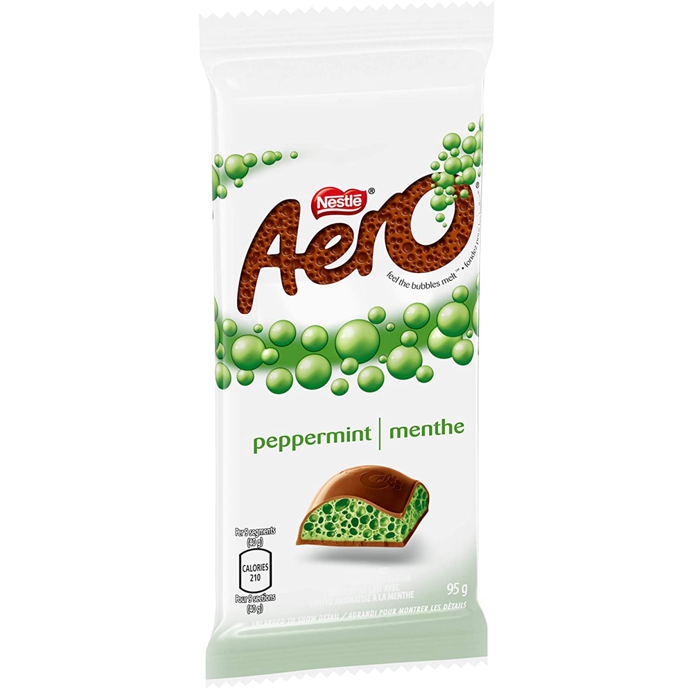 Aero Peppermint Chocolate Bar | 95 g
