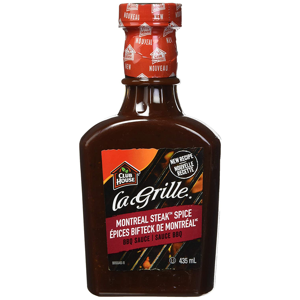 La Grille BBQ Sauce | Montreal Steak Spice | 435 ml
