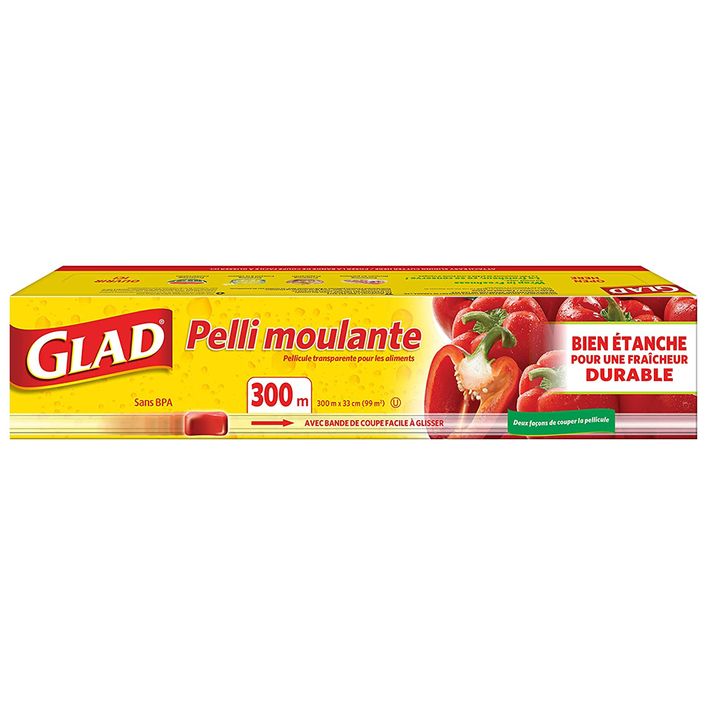 Glad ClingWrap Plastic Wrap | 300 m