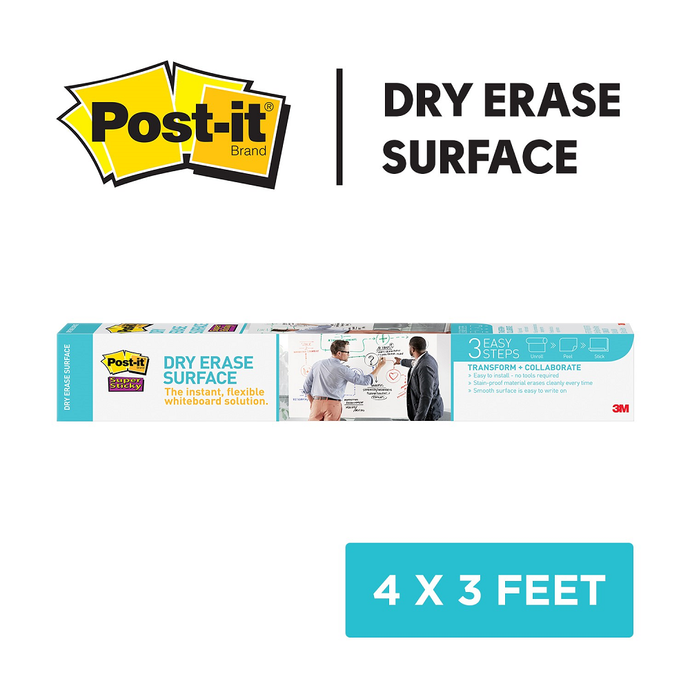Post-it Dry-Erase Surface