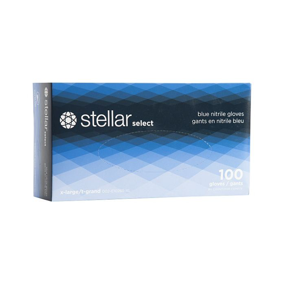Stellar Nitrile Disposable Gloves | 3 Mil | Box of 100