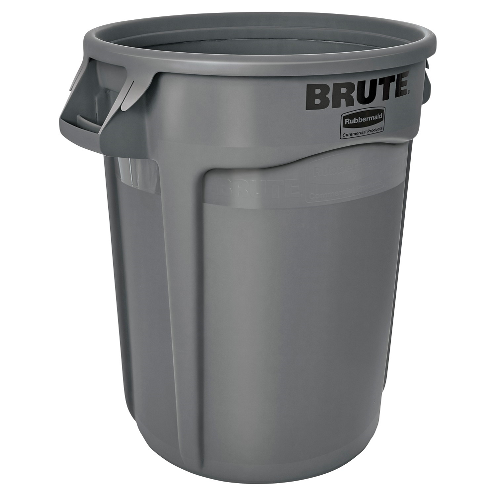 Rubbermaid Commercial Brute Vented 32-Gallon Container | Grey