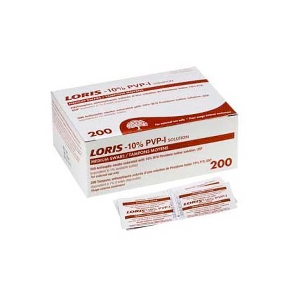 Lernapharm Loris Povidone Iodine Swabs | Medium