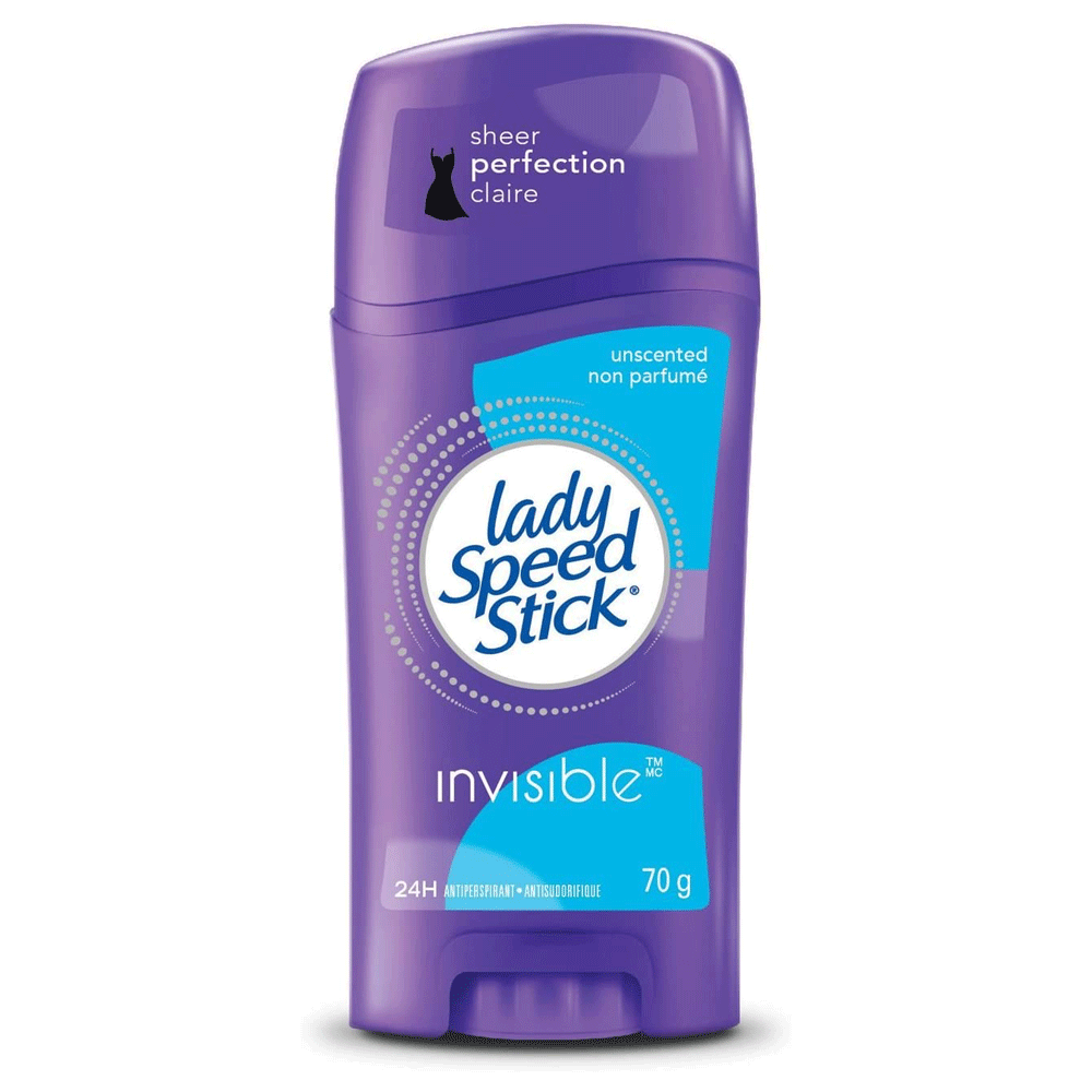 Lady Speed Stick Invisible Solid Antiperspirant | Unscented | 70 g