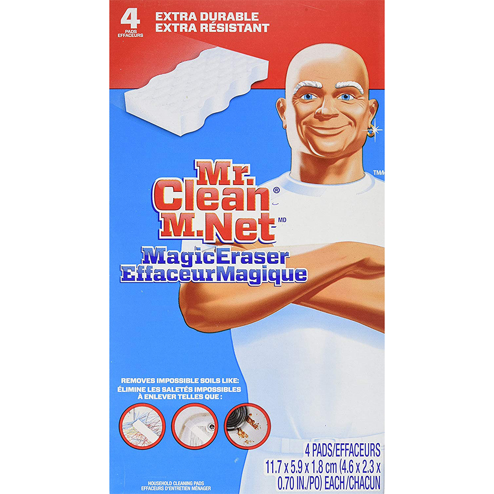 Mr. Clean Heavy Duty Eraser Cleaner | 4 Pack