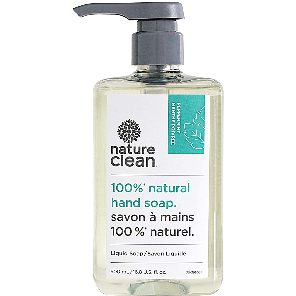 peppermint, Nature Clean Liquid Hand Soap | 500 ml