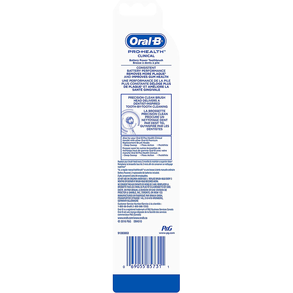 Oral-B Pro-Health Dual Clean Power Toothbrush