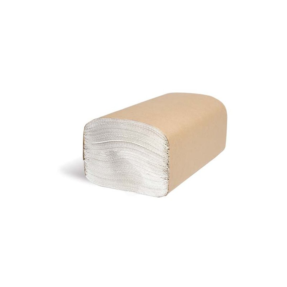 Paper Towels | Single-Fold White Paper | 250 Sheets per Package | 16 Pack