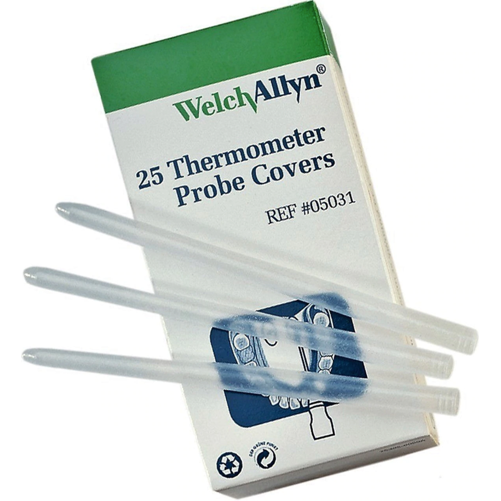 Welch Allyn Probe Cover for Models 250, 600, 670, 675 | 25 per Box