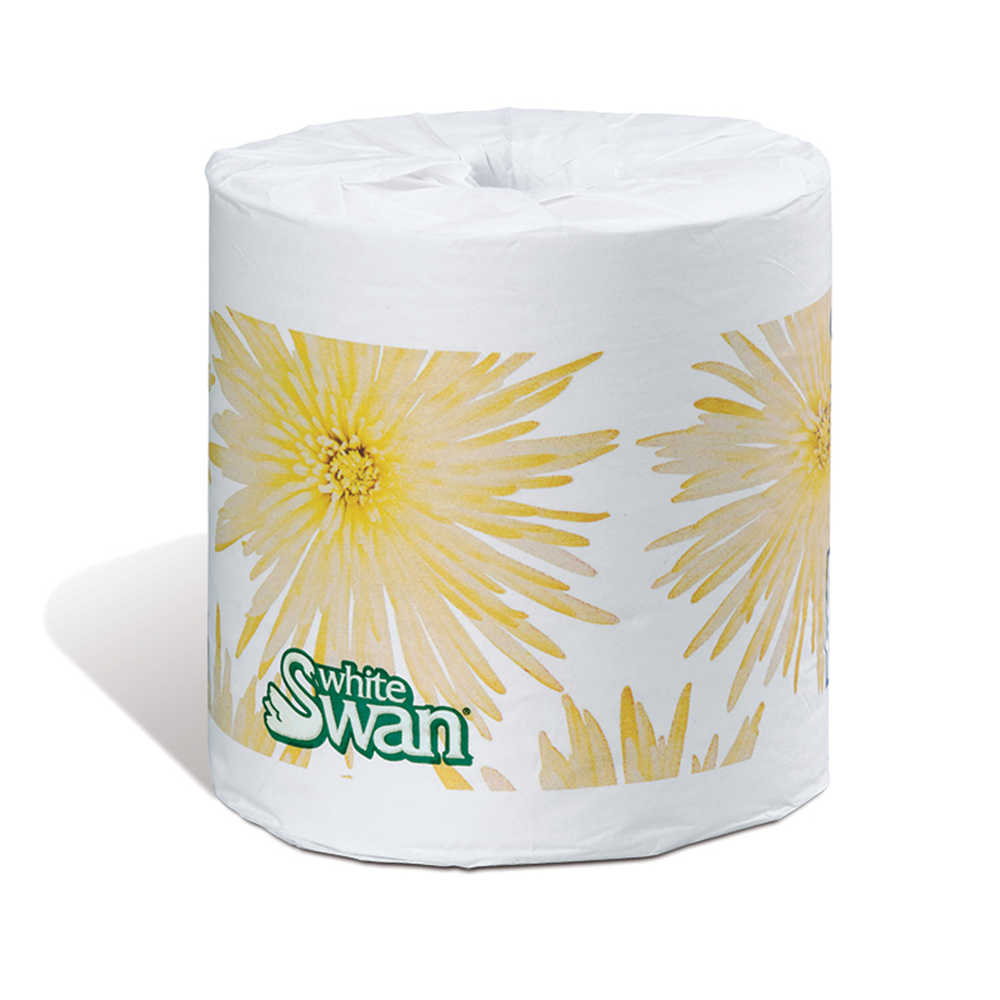 White Swan Bathroom Tissue | Quilted | 2-Ply | 420 Sheets | 48 Rolls