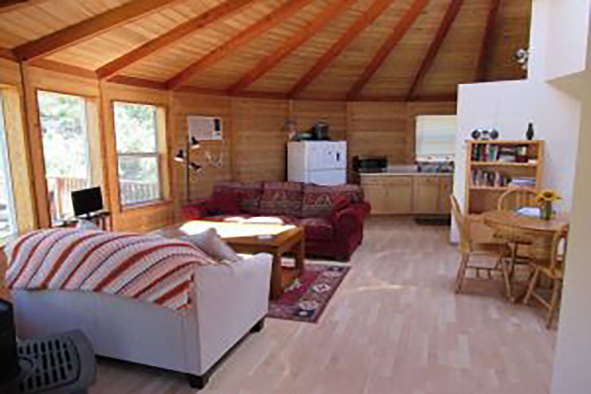 Yurt Rentals at the Kindness Ranch