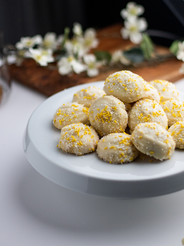 Lemon Burst Cookies: