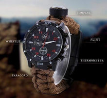 Load image into Gallery viewer, Patriot™: The Military Survivalist Watch