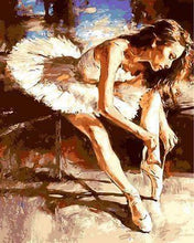 Load image into Gallery viewer, Soulful Ballerina - Van-Go Paint-By-Number Kit-Nomad Shops