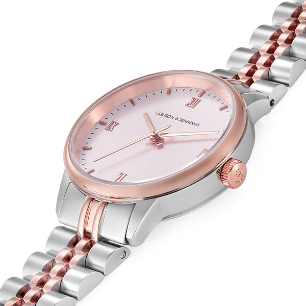 Vivid Link 30mm Rose Gold Pink
