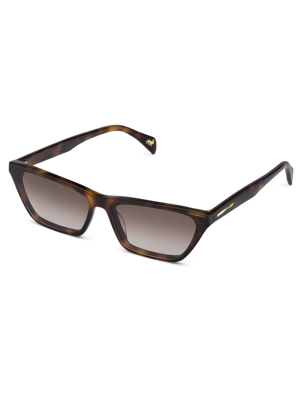 Dark Havana Cat Eye Sunglasses