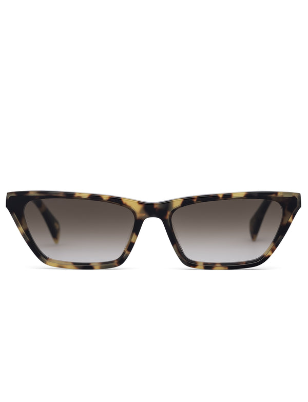 Light Havana Cat Eye Sunglasses