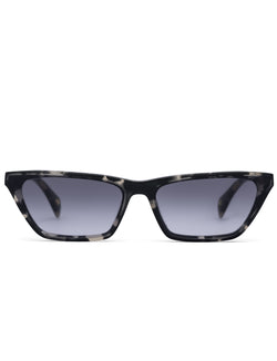 Grey Havana Cat Eye Sunglasses
