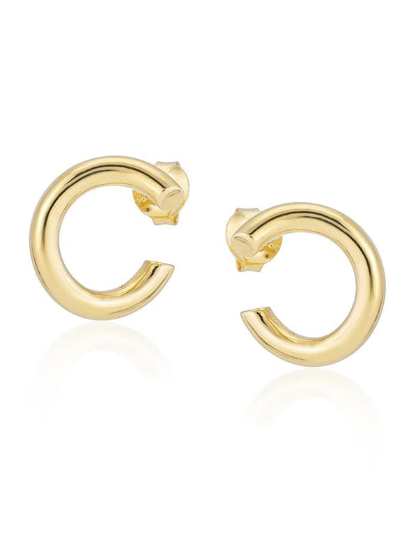 Gold Thyra Earrings