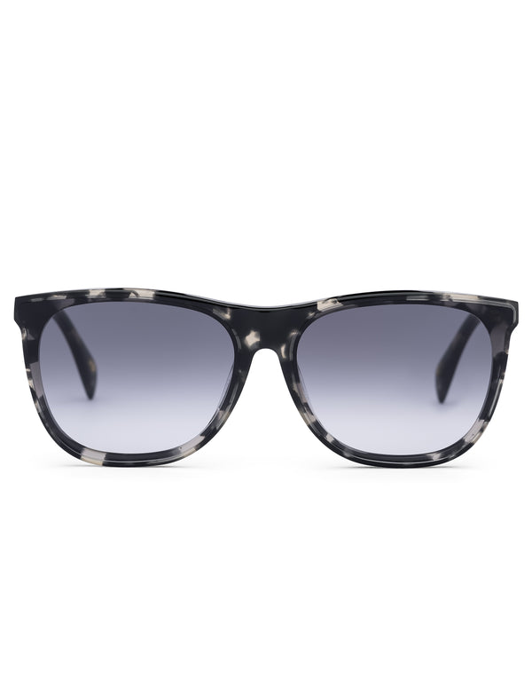 Grey Havana Wayfarer Sunglasses