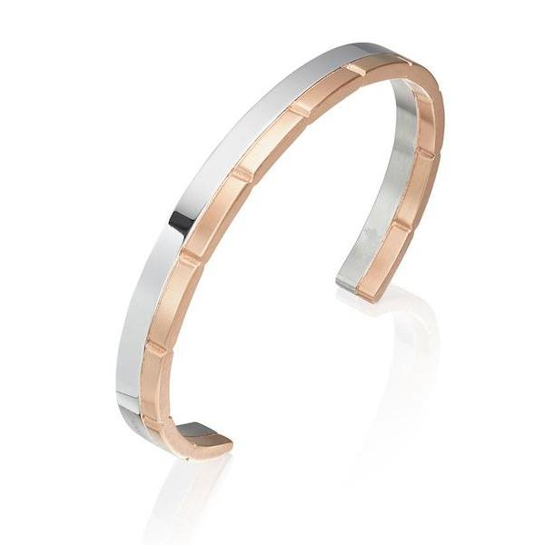 Rose Gold Link Bangle