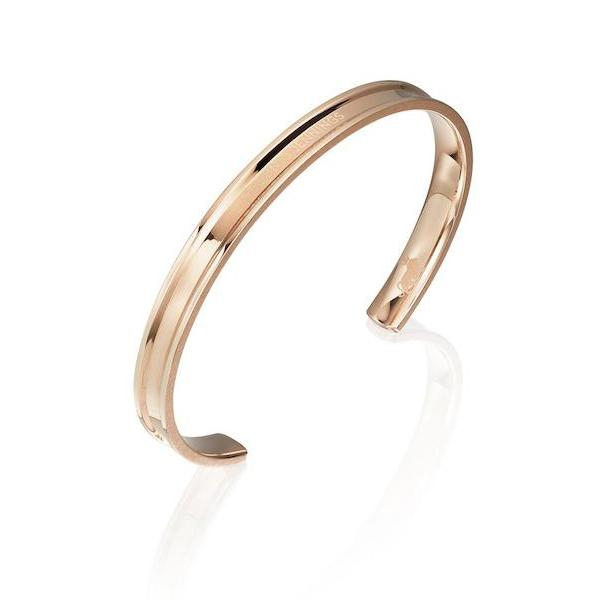Classic Rose Gold Bangle