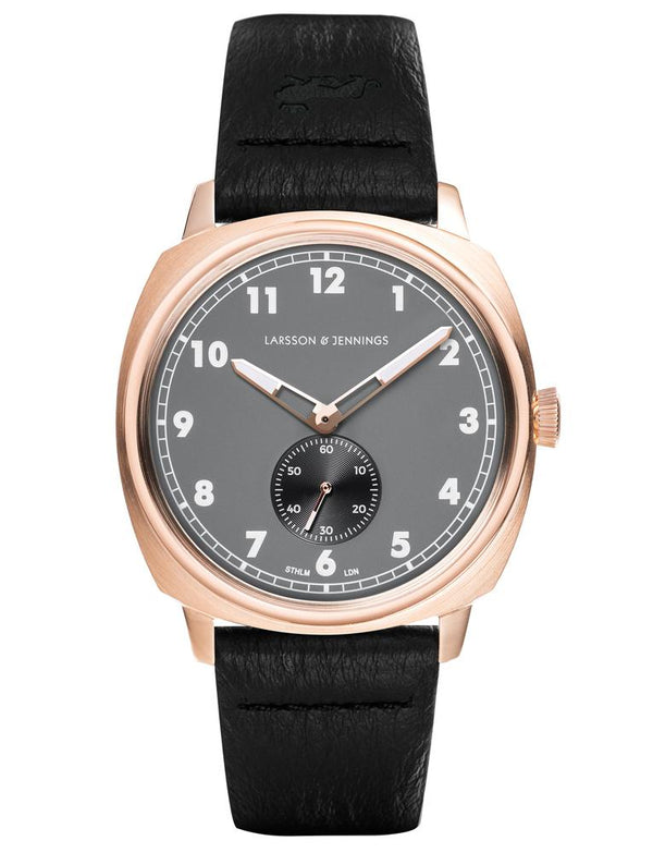 Meridian 38mm Rose Gold Charcoal