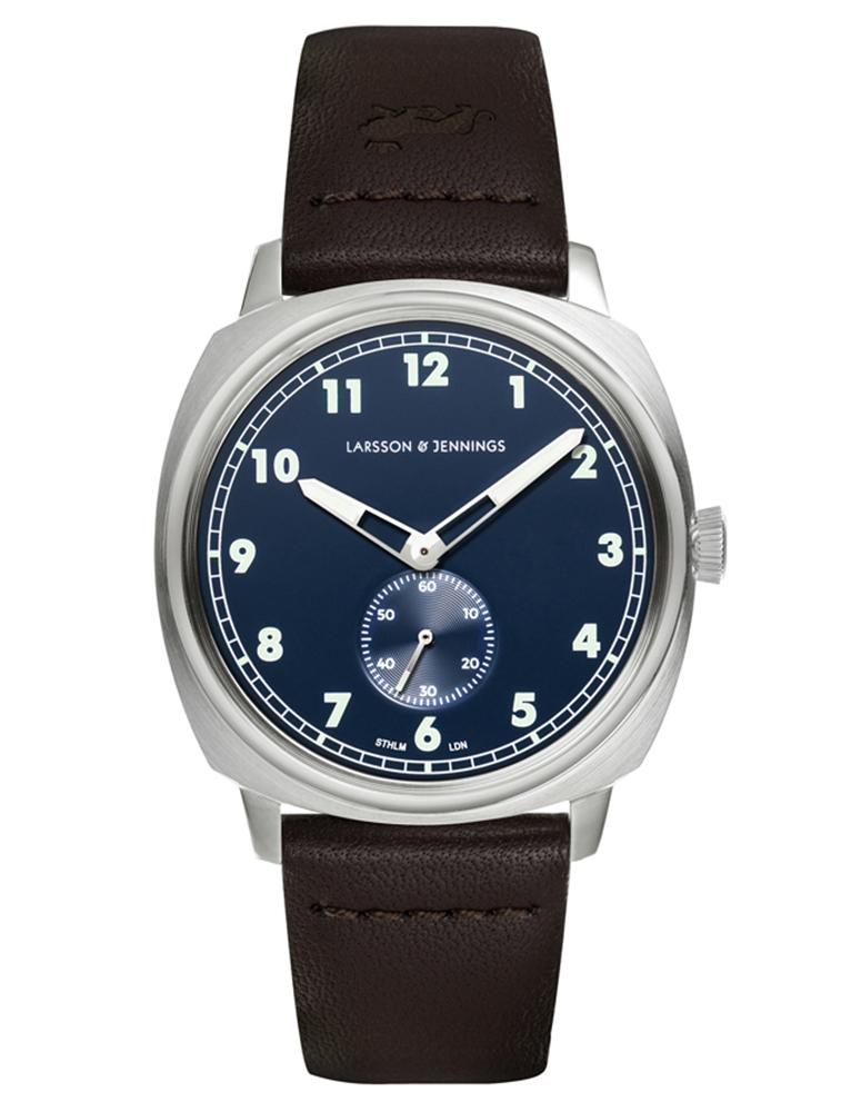 Meridian 38mm Silver Navy