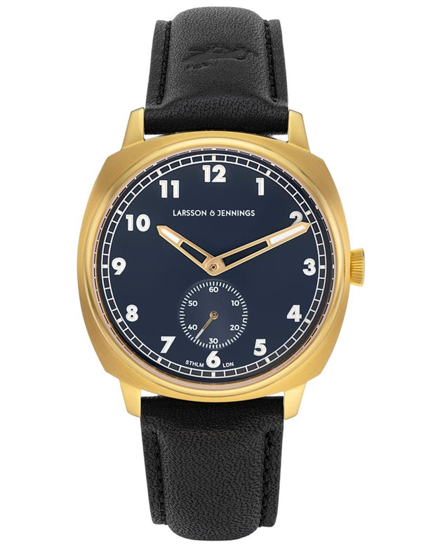 Meridian 38mm Gold Navy