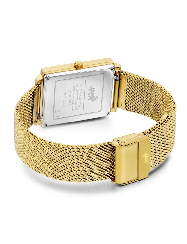 Norse Milanese 40mm Gold Satin-White