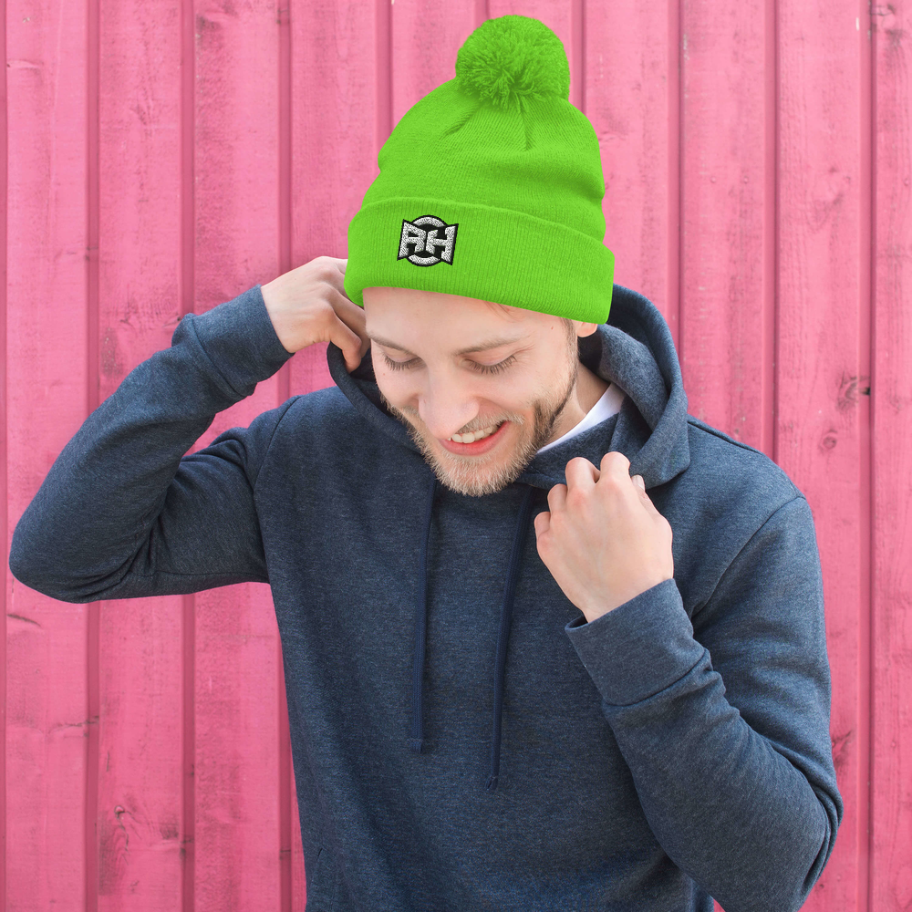 The New R|H Pom-Pom Beanie