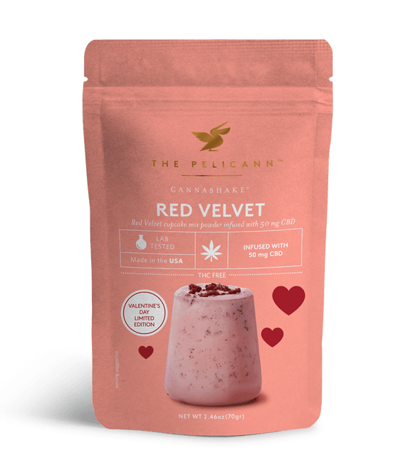 CANNASHAKE™ CBD Infused Red Velvet Drink - Hip