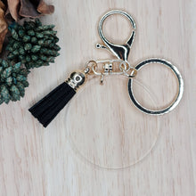 Load image into Gallery viewer, Keyrings with tassel