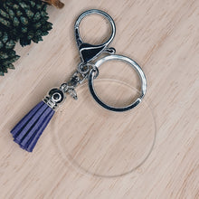 Load image into Gallery viewer, Keyrings-tassel & disc