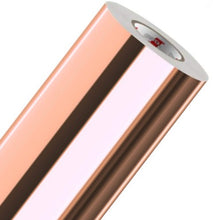 Load image into Gallery viewer, Oracal chrome rose gold vinyl