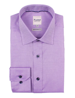 Plum Oxford Business Shirt (Contemporary Fit)