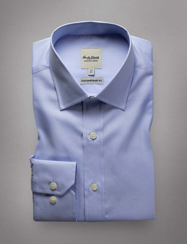 Essential Light Blue Shirt (Contemporary Fit)