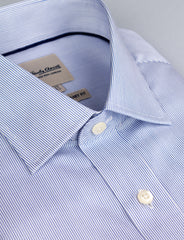 Fine Stripe Business Shirt (Contemporary Fit)