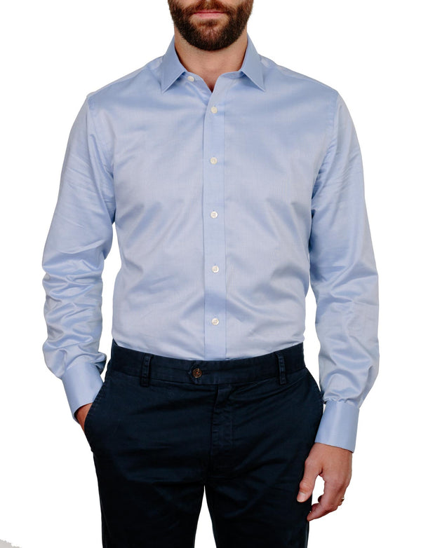 Blue Chambray Business Shirt